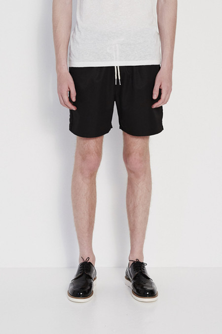 Soulland William Swim Shorts in Black