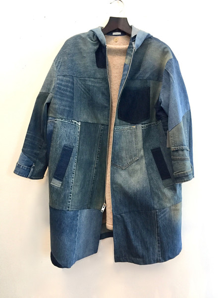 6397 Patchwork coat
