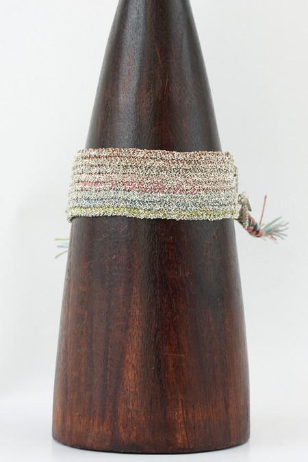 Marie Laure Chamorel Sterling Multi Color Bracelet