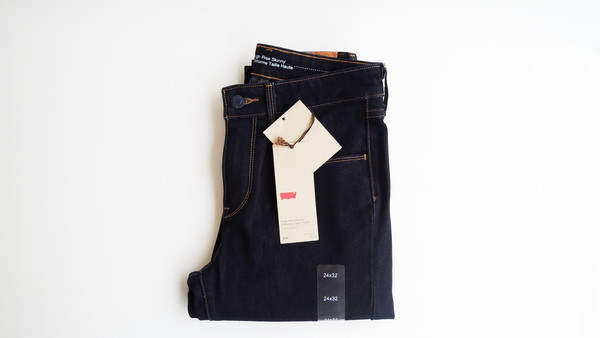 Levi's High Rise - Dark Wash
