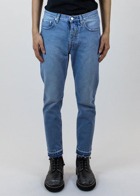 Harmony Dorian Cropped Frayed Hem Jeans