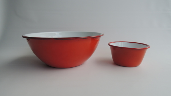 Falcon Enamelware Prep Set - Red