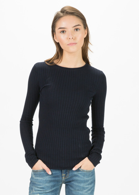 Organic by John Patrick Long Sleeve Ribbed Pullover