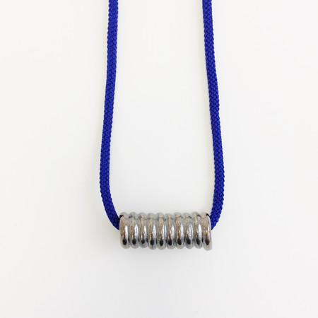 Aubrey Hornor Metallic Coil Necklace