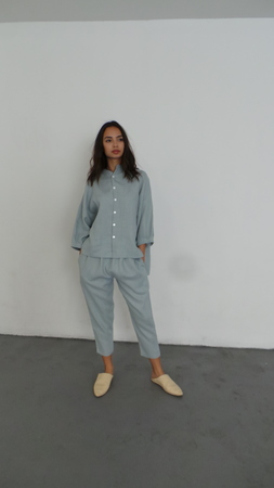 ILANA  KOHN MARION SHIRT - LIGHT BLUE