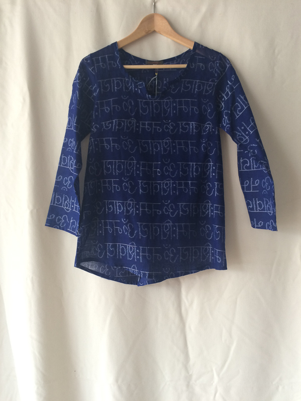 Modaspia Navy Prayer Cloth Tunic