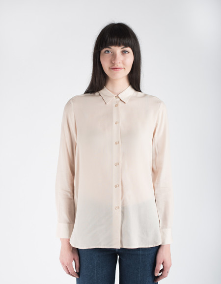Filippa K High-Low Tencel Shirt Chiffon