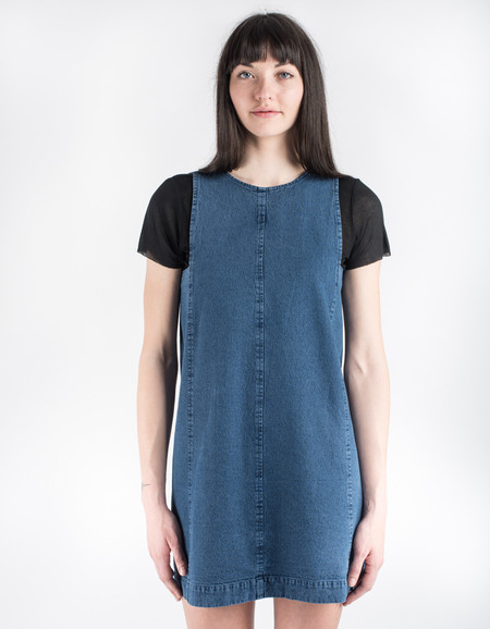 Neuw Aline Dress Deep Indigo
