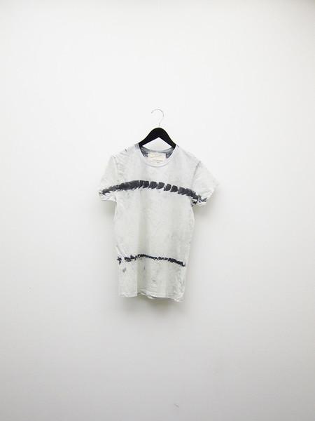 Audrey Louise Reynolds T-Shirt - Grey Stripe/Burnt Bone