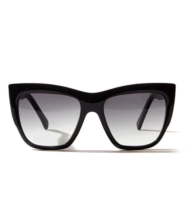 ZANZAN Okura Sunglasses in Black