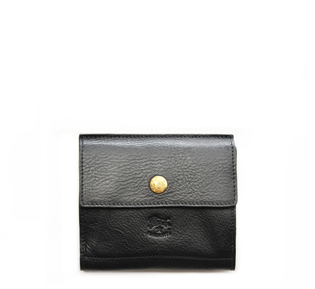 Il Bisonte C0910 Black Wallet