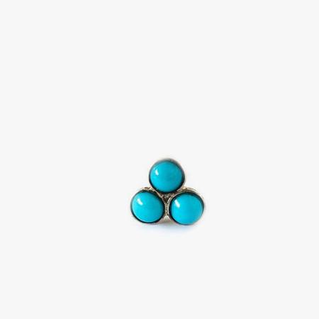 Giantlion Triple Turquoise Stud