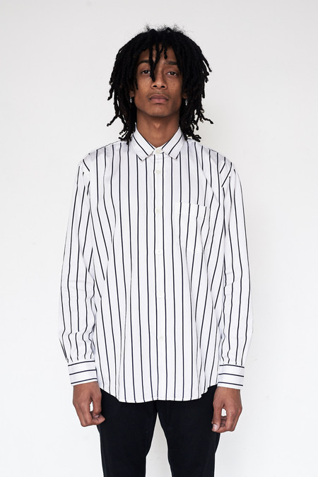 Our Legacy Cotton Initial Stripe Shirt