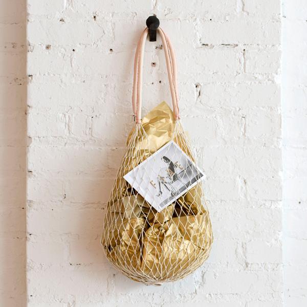 Anaak Crochet Fishnet Bag