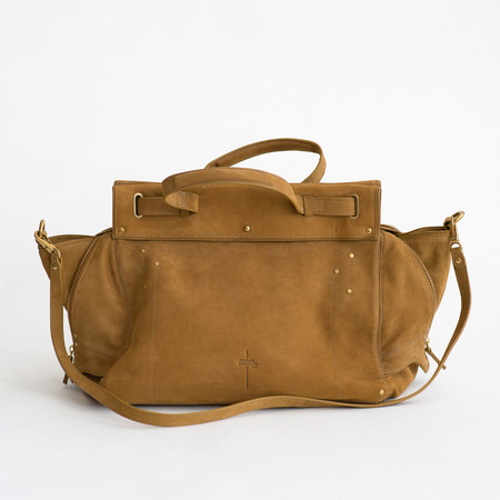 Jerome Dreyfuss Carlos Bag Goatskin Moutarde