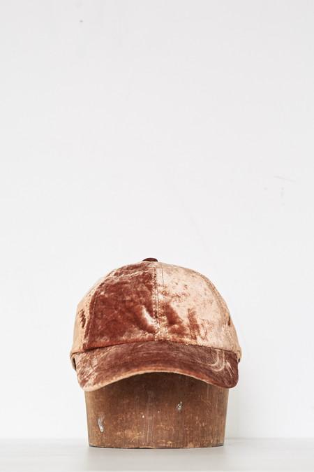 Colorant Velvet Cap - Copper