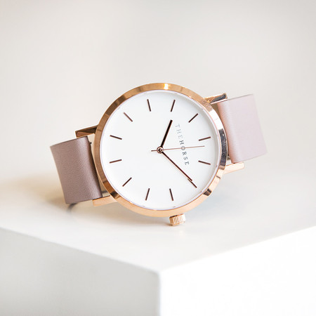 The Horse Original A14 Polished Rose Gold Blush Band