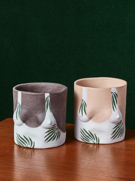 Group Partner Leaf Pots