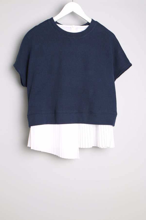 10 Crosby Sweatshirt With Pleats