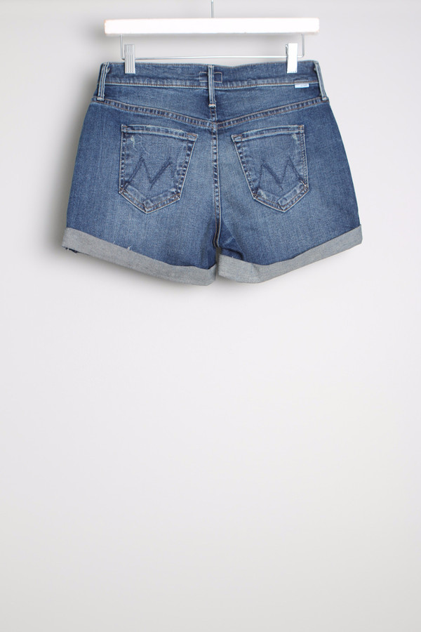Mother The Dropout Cuff Short