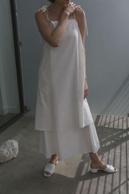 Shaina Mote Lhasa Dress in Salt