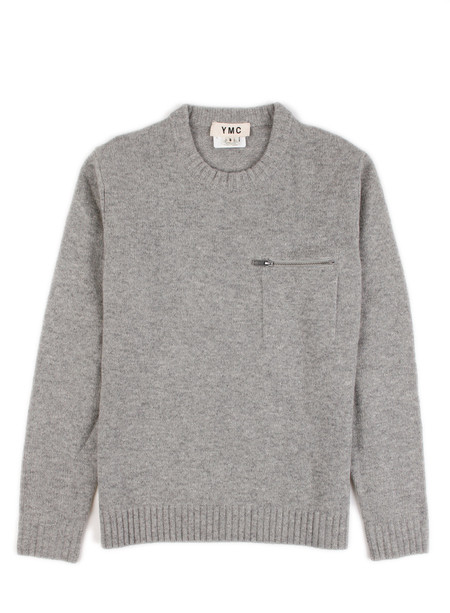 YMC - Zip Pocket Sweater