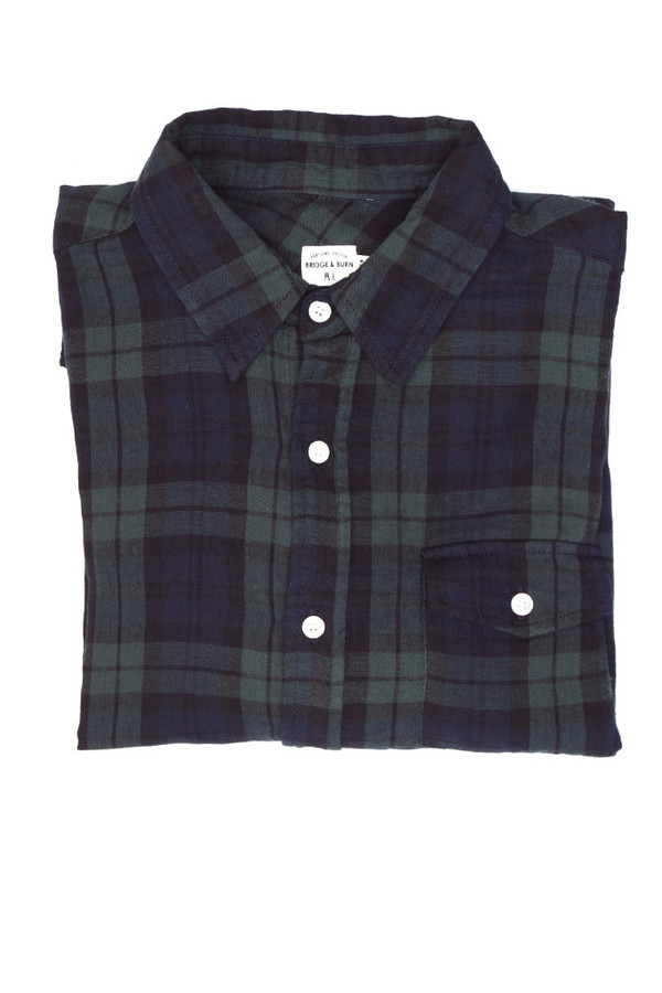 Men'sBridge & Burn Clinton Plaid