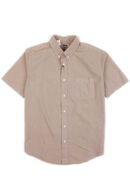 Stussy Deluxe - SS Button Down Shirt Beige