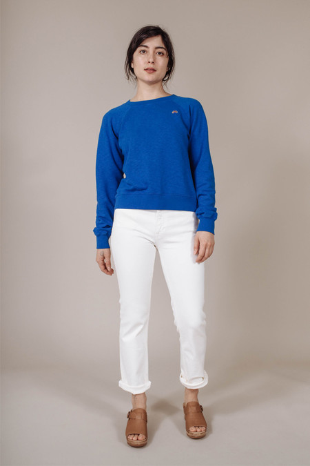 M.i.H. Jeans Two Shot Sweatshirt in Classic Blue