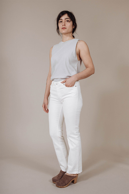 M.i.H. Jeans Daily Jeans in Off White