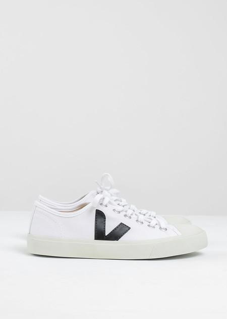 VEJA White Black Wata Canvas Sneaker