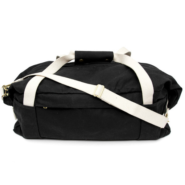 Pacific Standard Duffel Black Natural