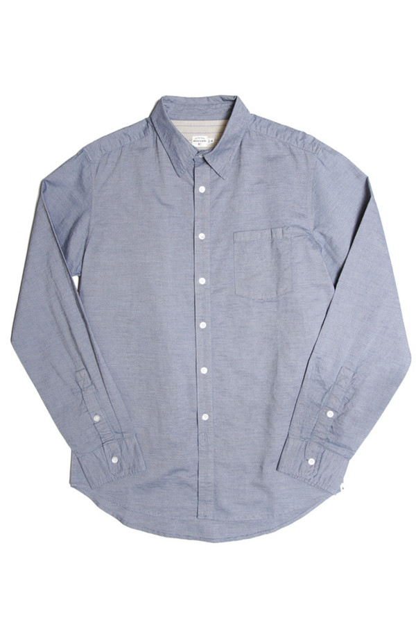 Men's Bridge & Burn Porteau Indigo Pinstripe