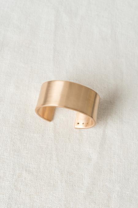 Marmol Radziner Cuff Wide In Brass