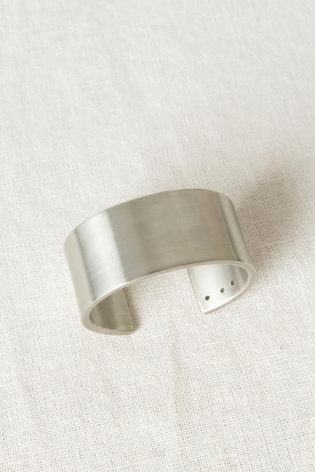 Marmol Radziner Cuff Wide In White Brass