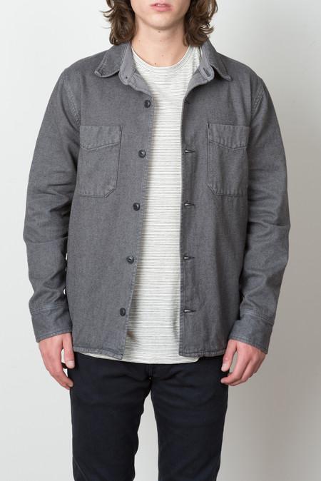 Save Khaki Field Shirt Jacket In New Metal
