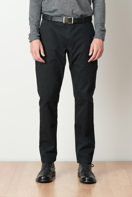 A Kind of Guise Permanents Trousers In Washed Black