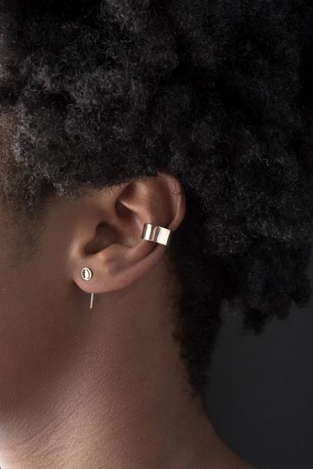 Kristen Elspeth Shield Ear Cuff In 14k Gold