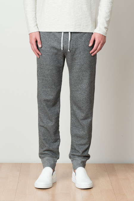 Save Khaki Sweatpant in Charcoal Heather