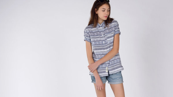 Native Youth Baja Drape Shirt