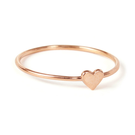 Catbird Heart Ring
