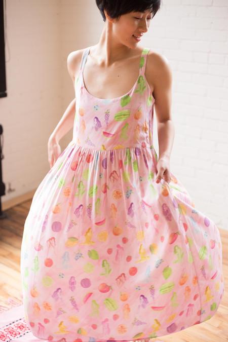 Samantha Pleet Myth Dress (Fruit & Fairies Print)
