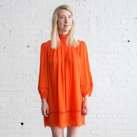 Apiece Apart La Sierra Mini Dress Tamarillo