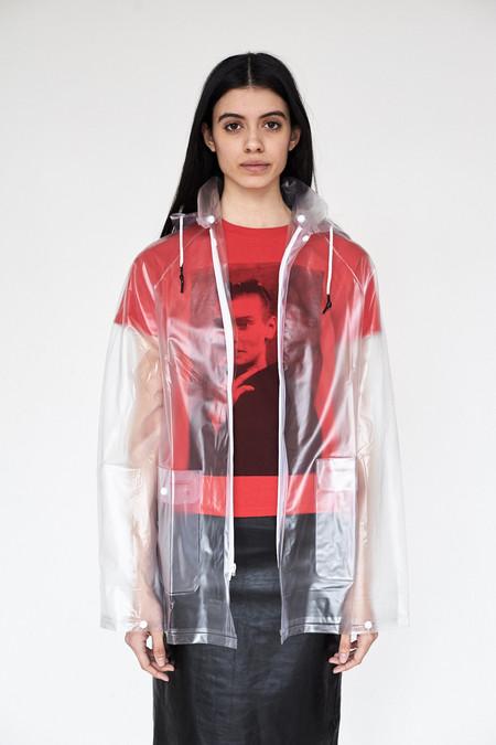 Unisex Assembly New York Vinyl Clear Raincoat