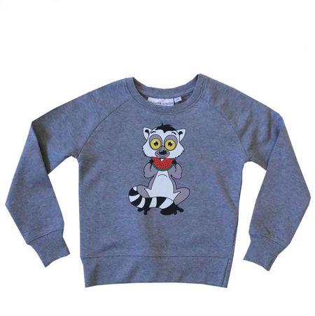 Tao&Friends Grey Lemuren Sweatshirt
