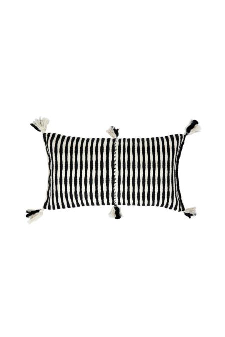Archive New York Antigua Pillow Black stripe