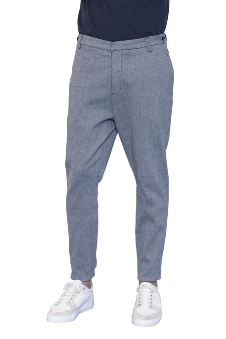 Journal Fine Waffle Pants - Storm Grey
