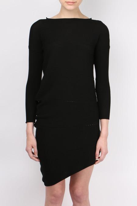 ONE CHOI Asymmetrical Knit Dress