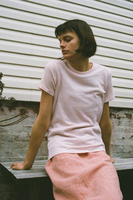 Audrey Louise Reynolds Pale Pink Shirt