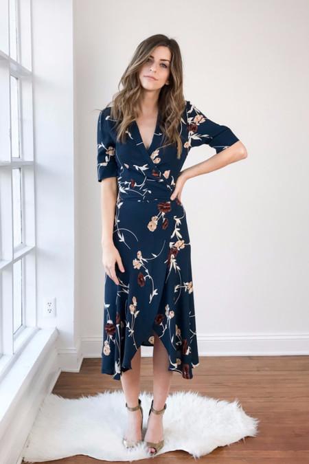 Ganni Dalton Crepe Dress